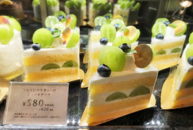 "【YATSUDOKI】""シャインマスカットフェスタ""開催中!素材の良さが光るショートケーキを実食ルポ 画像3"