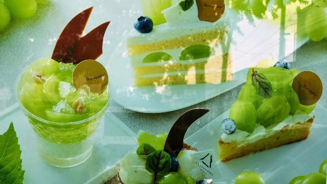 "【YATSUDOKI】""シャインマスカットフェスタ""開催中!素材の良さが光るショートケーキを実食ルポ 画像5"