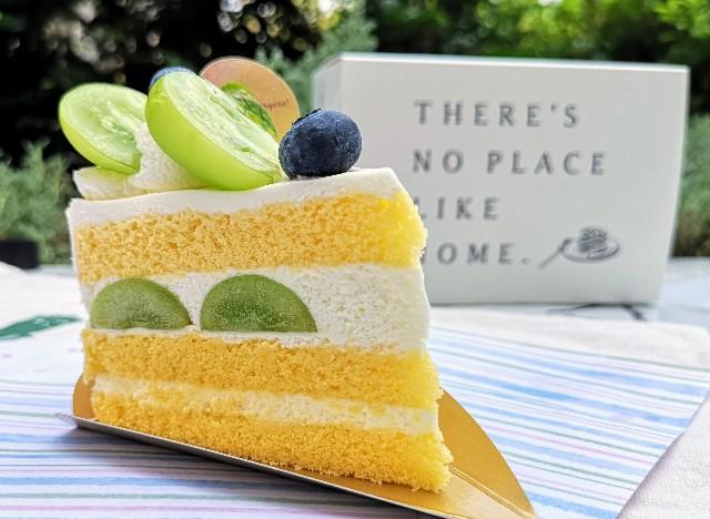 "【YATSUDOKI】""シャインマスカットフェスタ""開催中!素材の良さが光るショートケーキを実食ルポ 画像6"