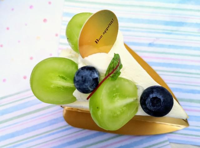 "【YATSUDOKI】""シャインマスカットフェスタ""開催中!素材の良さが光るショートケーキを実食ルポ 画像7"