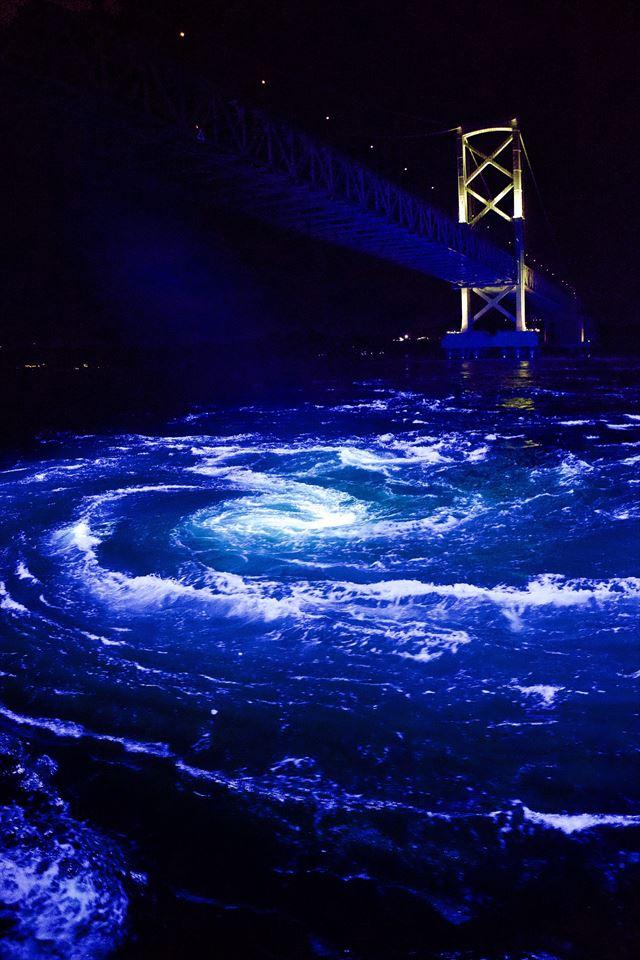 【4日間限定】幻想的な夜の渦潮と光の共演「秋のうずしおナイトクルーズ」 画像2