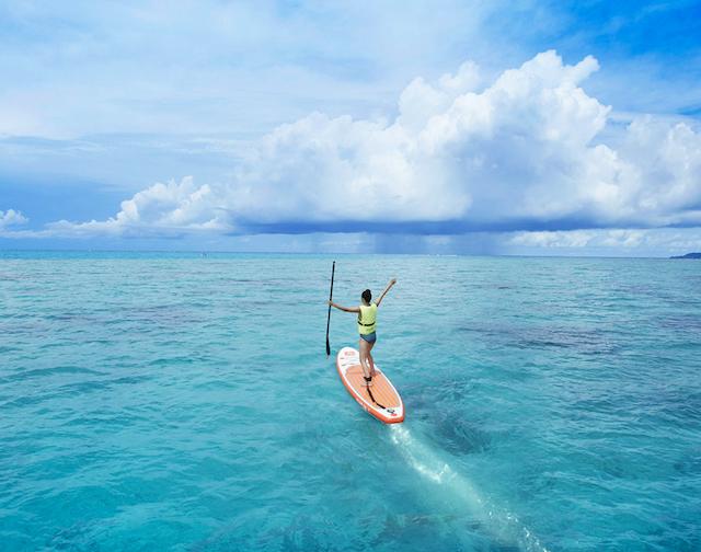 【リゾナーレ小浜島 宿泊ルポ|後編】幻の島、海上ラウンジ、日本最大珊瑚礁でのシュノーケルまで、最高のアクティビティを体験! 画像18
