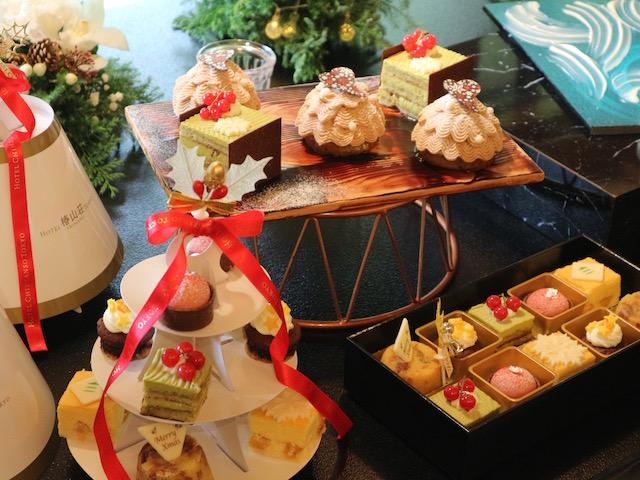 いちご、栗、ピスタチオ!「ホテル椿山荘東京」の美しき贅沢クリスマスケーキ 画像1