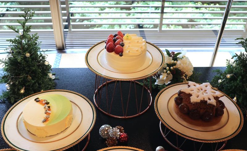 いちご、栗、ピスタチオ!「ホテル椿山荘東京」の美しき贅沢クリスマスケーキ 画像2