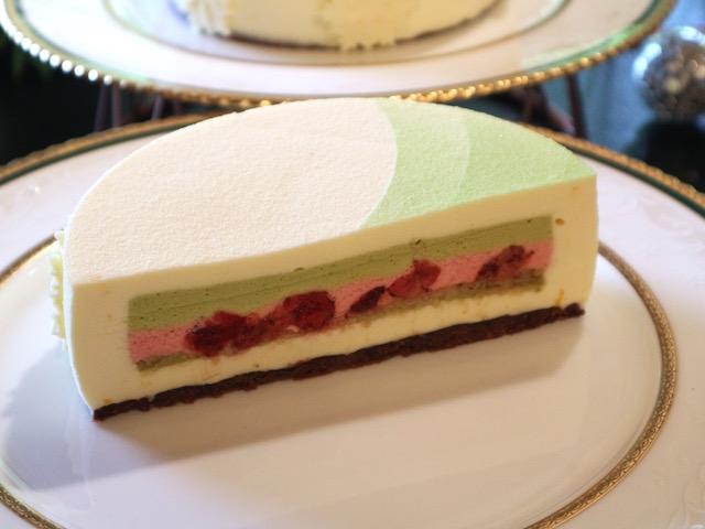 いちご、栗、ピスタチオ!「ホテル椿山荘東京」の美しき贅沢クリスマスケーキ 画像8