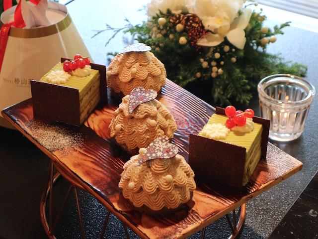 いちご、栗、ピスタチオ!「ホテル椿山荘東京」の美しき贅沢クリスマスケーキ 画像11