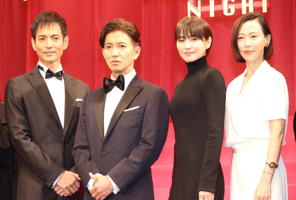 木村拓哉、長澤まさみとの共演は「やっぱ最高っすよ」 長澤「木村さんは座長としての信頼感と安心感が200パーセント」 画像1
