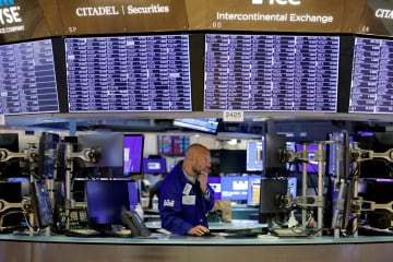 NY株続落、151ドル安 景気回復の減速懸念で 画像1
