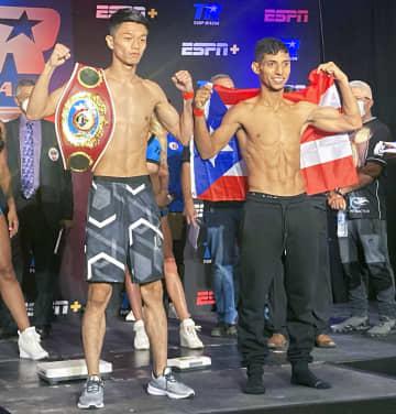 中谷、挑戦者とも計量クリア ボクシングWBO世界戦 画像1