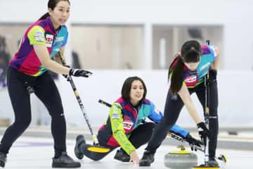 カーリング、北海道銀行が先勝 女子日本代表決定戦 画像1