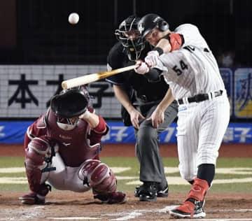 ロ3―2楽(10日) レアードがサヨナラ本塁打 画像1