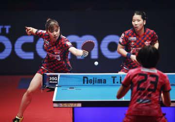 卓球、日本生命が九州に勝利 ノジマTリーグ女子開幕戦 画像1