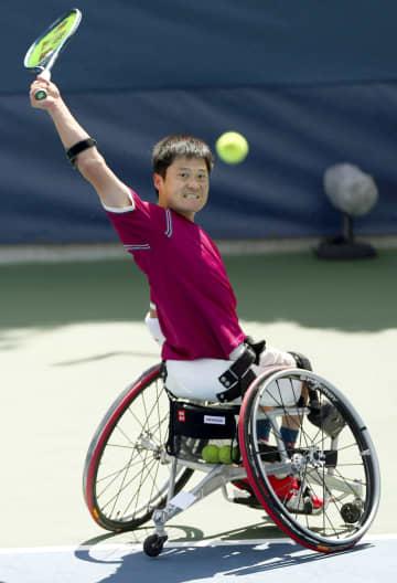 国枝慎吾、上地結衣が決勝へ 全米テニス車いすの部 画像1
