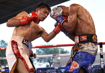 中谷潤人、4回TKOで初防衛 WBOフライ級 画像1