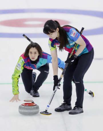 カーリング、北海道銀が2勝1敗 北京五輪の女子代表決定戦 画像1