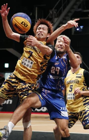 バスケ、宇都宮が男子優勝 3人制プロリーグ 画像1