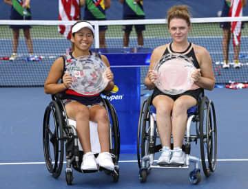 上地組、国枝組は準優勝 全米テニス車いすの部 画像1