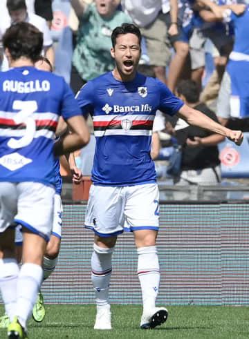 吉田が今季初ゴール イタリア1部リーグ 画像1