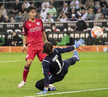 奥川雅也、今季初ゴール サッカー、ドイツ1部 画像1