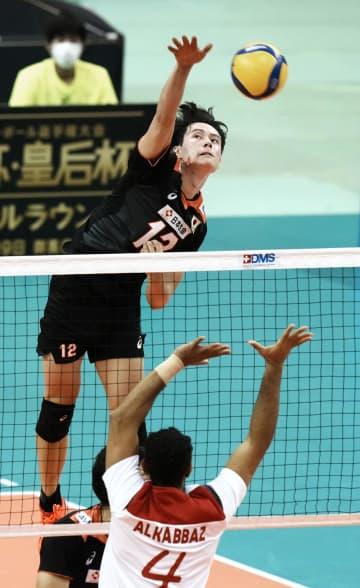 バレー男子、日本は開幕2連勝 アジア選手権 画像1