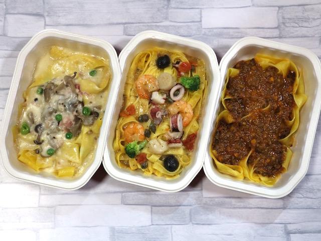 家で手軽に楽しむ本格イタリアン!レンジで温めるだけでレストランの味を再現する「ディナーパスタ」実食ルポ【ロイヤルデリ】 画像1