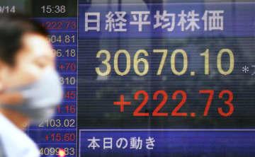 株、バブル崩壊後最高値 31年ぶり水準、時価総額最大 画像1