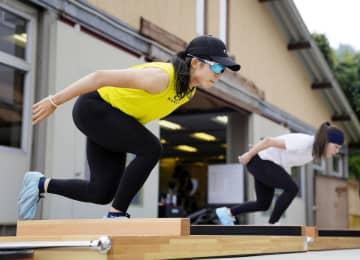 高木美帆「気が引き締まる」 北京五輪シーズンへ合宿 画像1