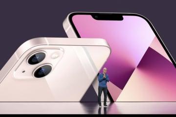 「アイフォーン13」を発表 カメラ性能強化、24日発売 画像1