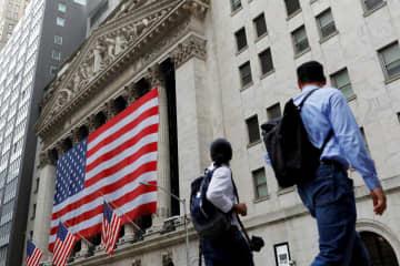 NY株反落、292ドル安 米景気回復遅れを懸念 画像1