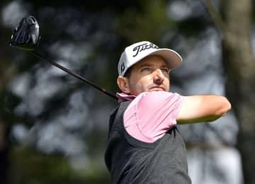 男子ゴルフ、クルーガーが首位 ANAオープン第1日 画像1