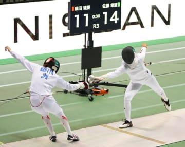 五輪代表の佐藤ら決勝へ 全日本フェンシング第1日 画像1