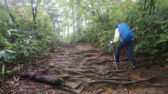 絶景と秘湯に出会う山旅(33)日本百名山の会津駒ケ岳と秘湯 桧枝岐温泉 画像4
