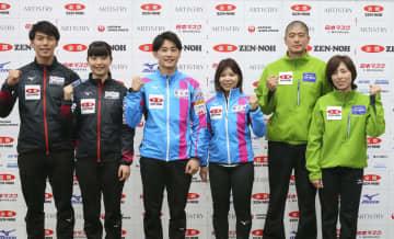 3組が日本代表決定戦へ意気込み カーリング混合ダブルス 画像1