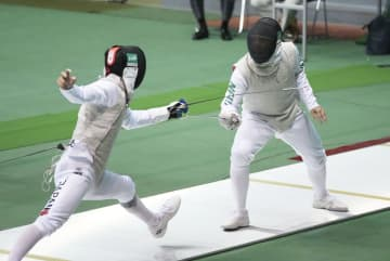 五輪代表の永野、江村が決勝 全日本フェンシング第2日 画像1
