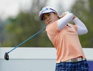 畑岡23位、山口は予選落ち 米女子ゴルフ第2日 画像1