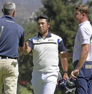 米男子ゴルフ、松山17位に浮上 今季開幕戦の第2日 画像1