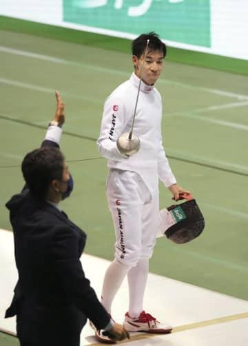 五輪金の加納虹輝が決勝へ 全日本フェンシング第3日 画像1