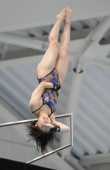 飛び込み、五輪代表の荒井5連覇 日本選手権第2日 画像1