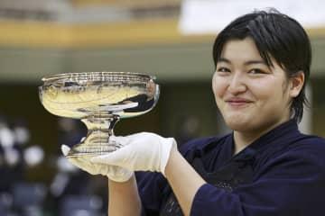 妹尾が初優勝 剣道の全日本女子選手権 画像1
