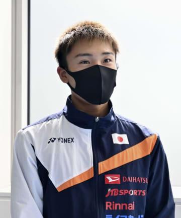 バド、桃田主将「姿勢で示す」 日本代表が遠征出発 画像1