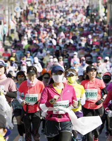 10万人がスマホで「競走」 月間距離など争うイベント 画像1