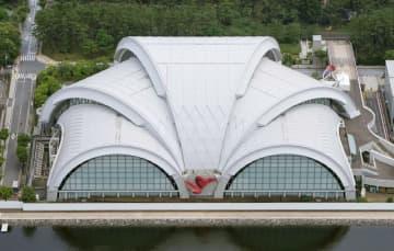 辰巳水泳場、年1億6千万円赤字 リンクに改修後の運営中間計画 画像1