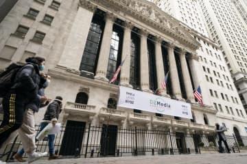 NY株、一時300ドル超高 割安感から反発 画像1