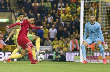 リバプール南野、初出場で2得点 イングランド・リーグ杯 画像1