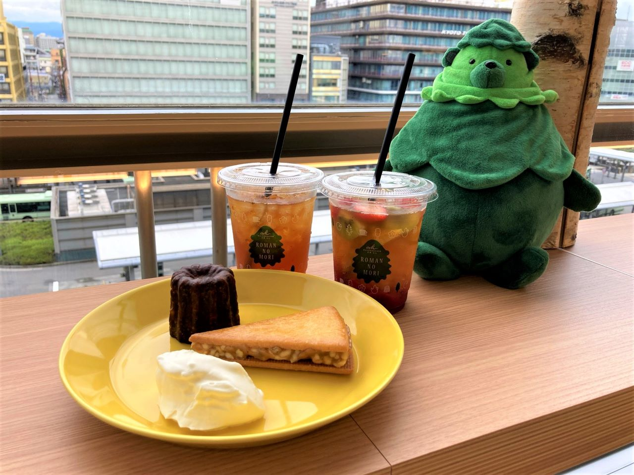 京都駅にマールブランシュ「ロマンの森カフェ」がオープン!オリジナル京都紅茶と限定スイーツを楽しめる【実食ルポ】 画像1