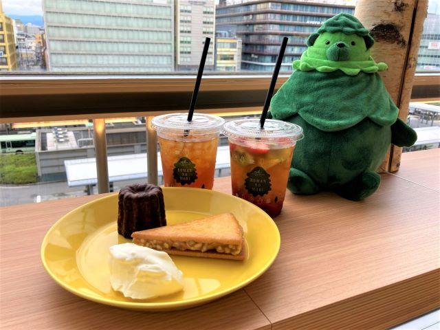 京都駅にマールブランシュ「ロマンの森カフェ」がオープン!オリジナル京都紅茶と限定スイーツを楽しめる【実食ルポ】 画像22