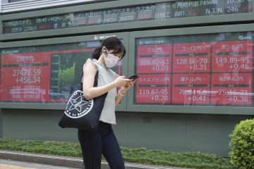 東証、午前終値3万0200円 中国恒大の懸念和らぐ 画像1