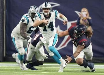 NFL、パンサーズが開幕3連勝 第3週、テキサンズに快勝 画像1
