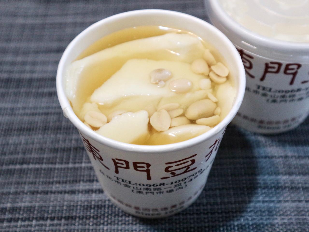 【台湾】「ピーナッツ豆花」のなぜか懐かしい味わい。台北・東門市場の超ローカル店「江記東門豆花」 画像1