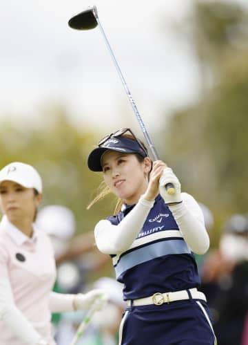 前週Vの西村優菜が首位発進 ゴルフ・ダンロップ女子第1日 画像1